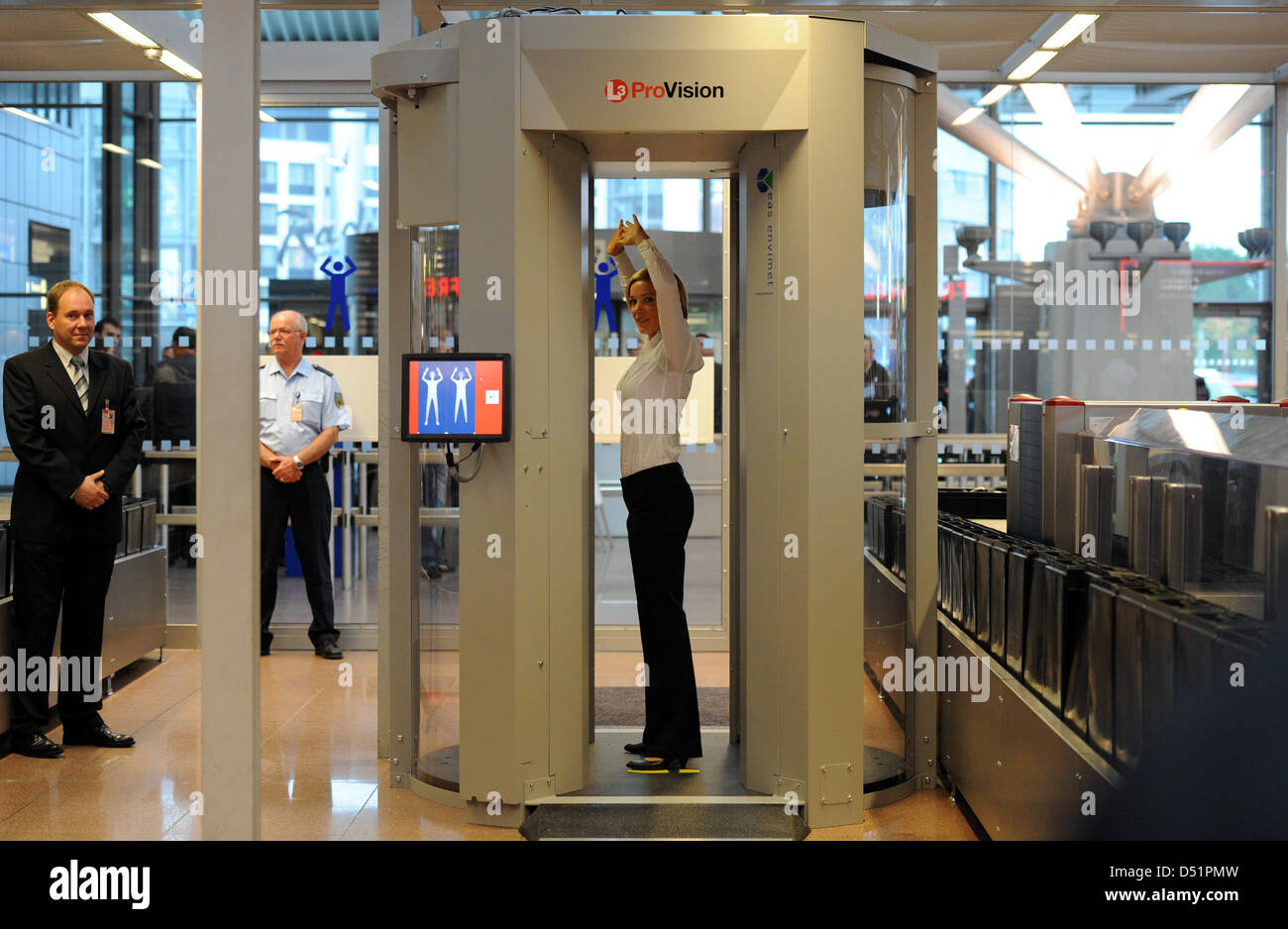 Body Scanner Airport Stock Photos & Body Scanner Airport Stock