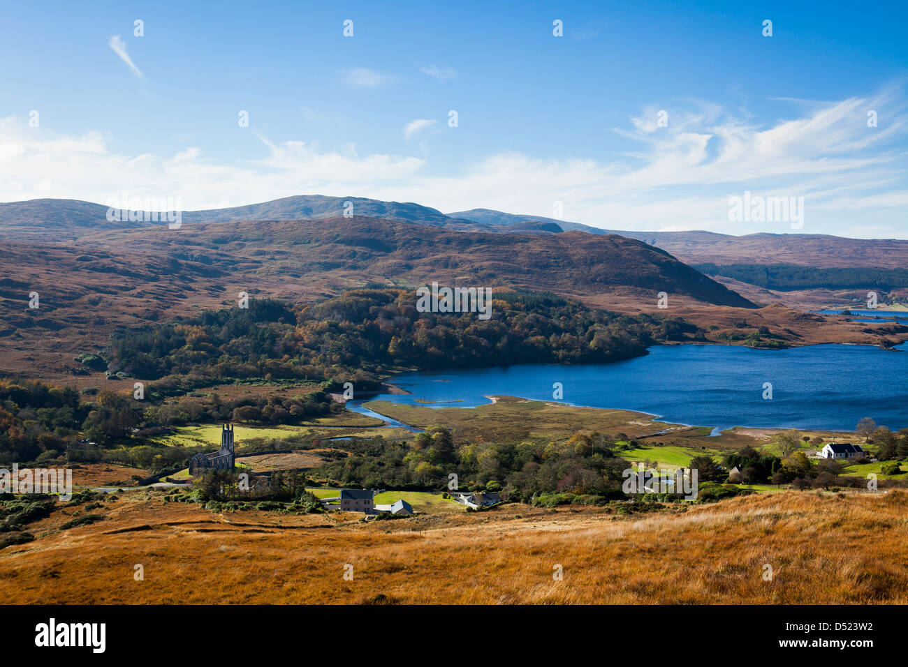 Dunlewey, Gweedore, Co. Donegal, Ireland - Stock Image