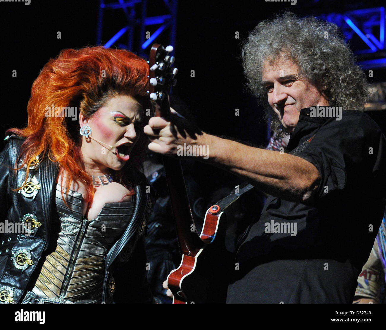 Brian May Queen Stock Photos & Brian May Queen Stock Images - Alamy