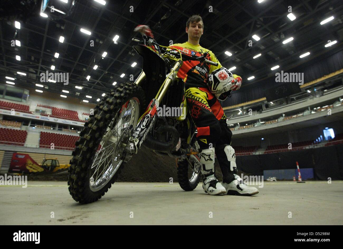 Motocross Fmx Free Style Motocross Ergo Arena Stock Photos