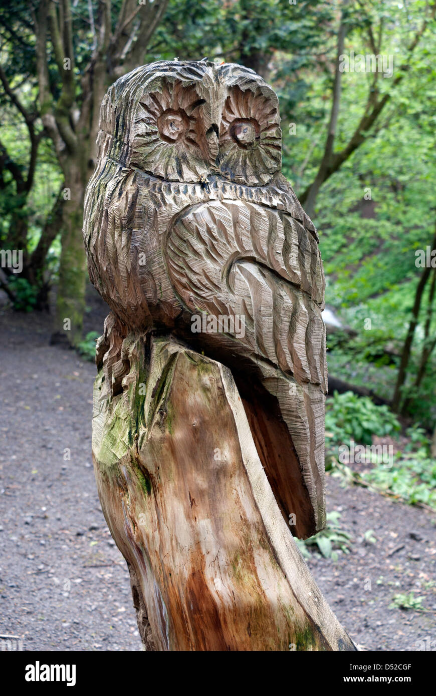 Owl carving stock photos owl carving stock images alamy