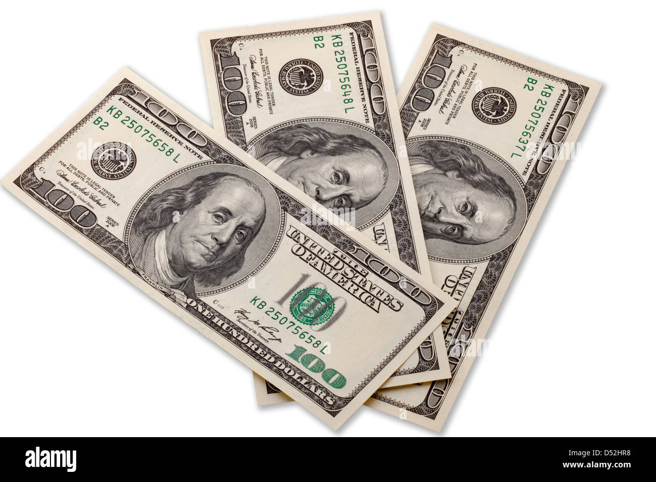 three hundred dollars  Three hundred dollars Stock Photo: 54762268 - Alamy