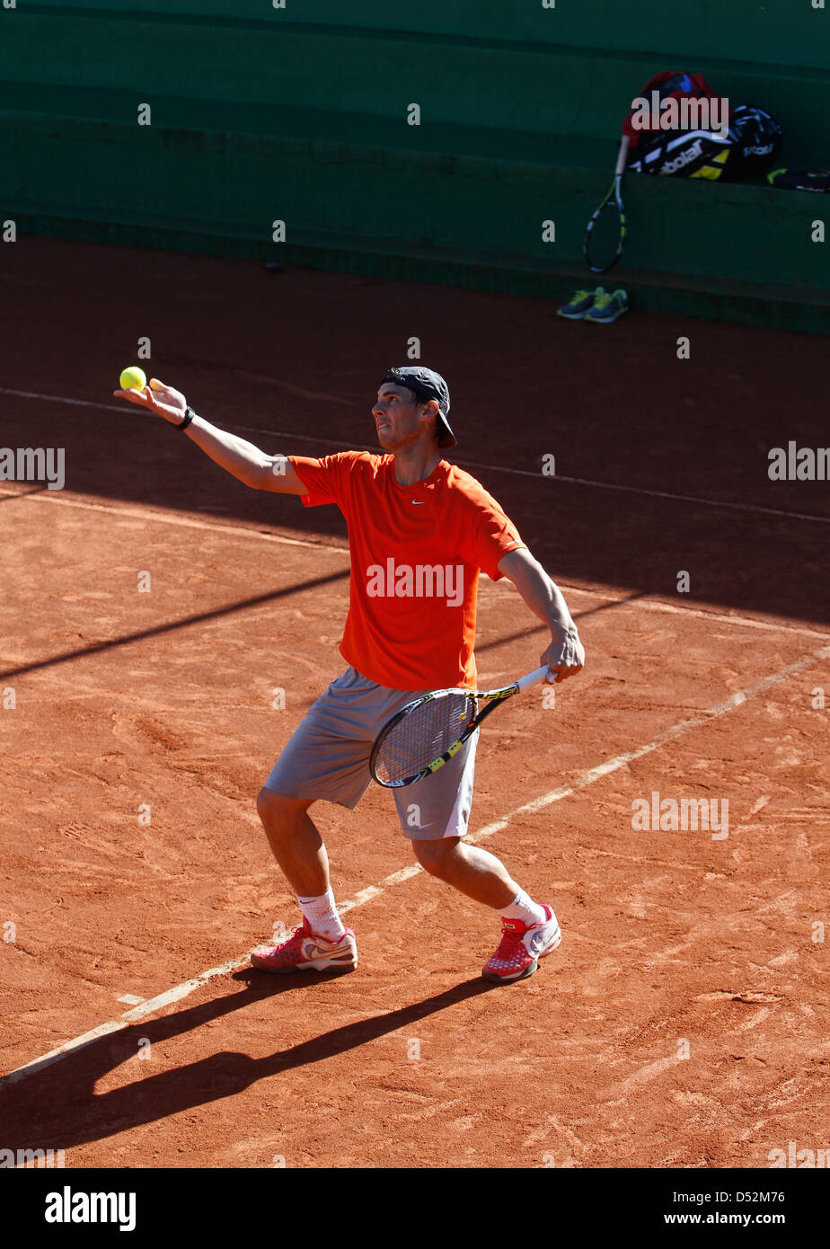 Rafael Nadal On Court High Resolution Stock Photography And Images Alamy