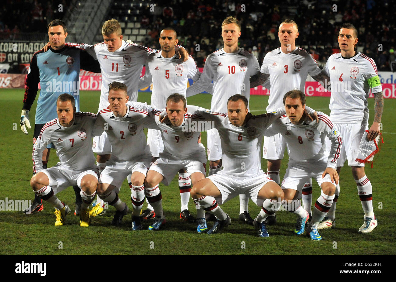 competitive price 7bc06 786e5 Danish National Soccer Team Stock Photos & Danish National ...