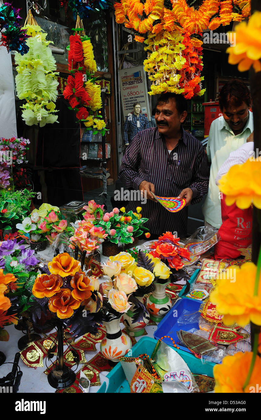 Selling Artificial Flowers Stock Photos Selling Artificial Flowers
