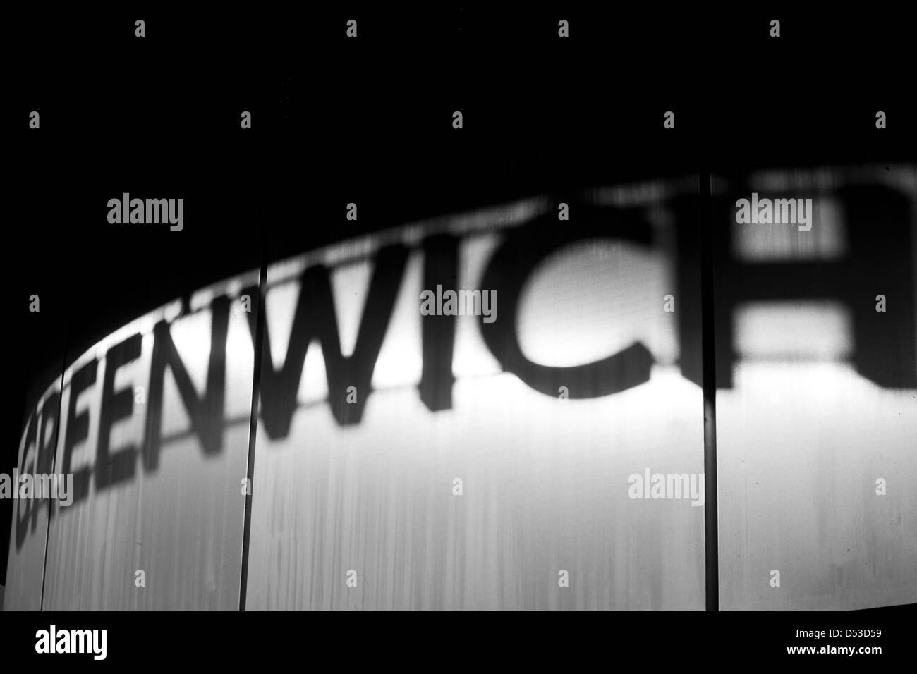 Greenwich Reflection, London, UK - Stock Image