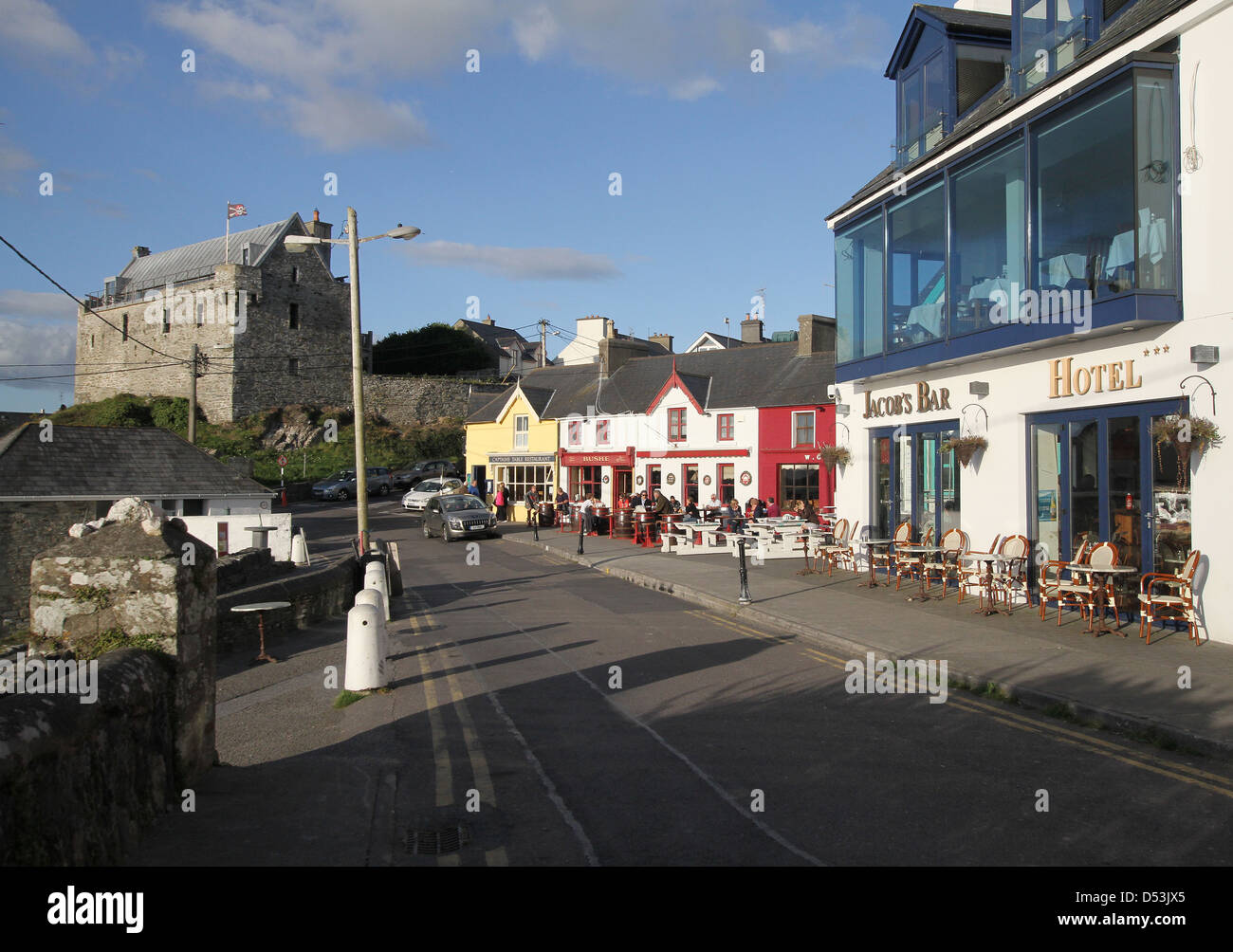 Baltimore village in west Cork Ireland - Stock Image