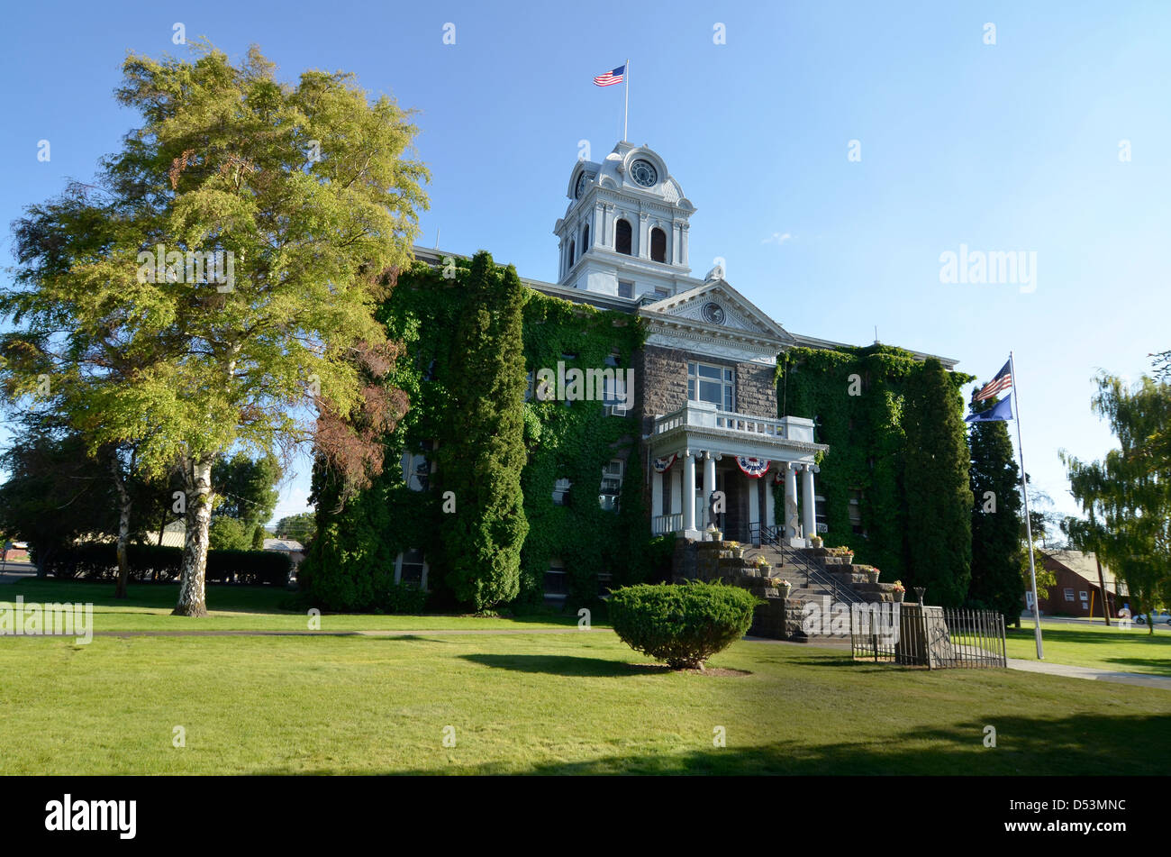 Crook County Courthouse in Prineville, Oregon. - Stock Image