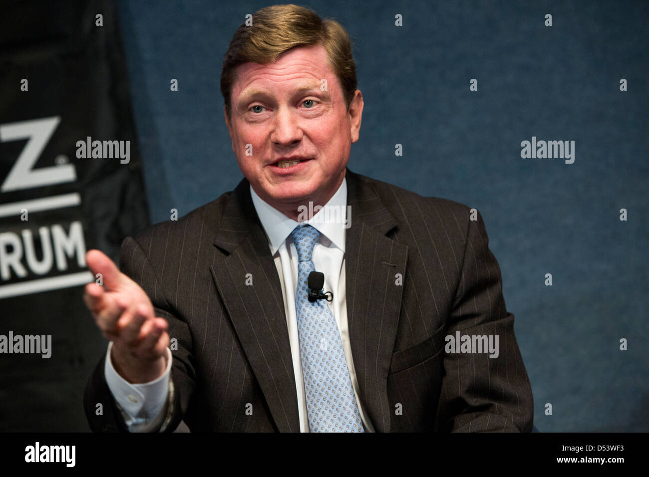 Thomas Fanning, chairman, president and CEO of Southern Company. Stock Photo