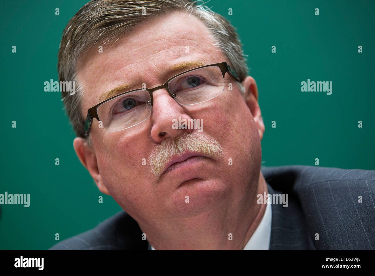 Mike Rippey, President and CEO of ArcelorMittal USA.  - Stock Image