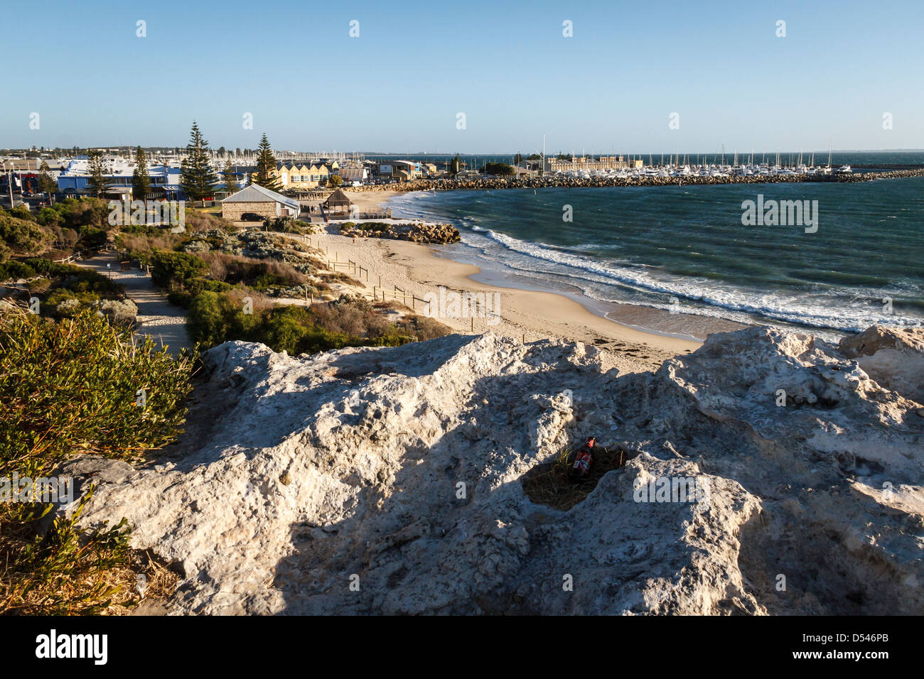 On the waterfront, Fremantle - Stock Image