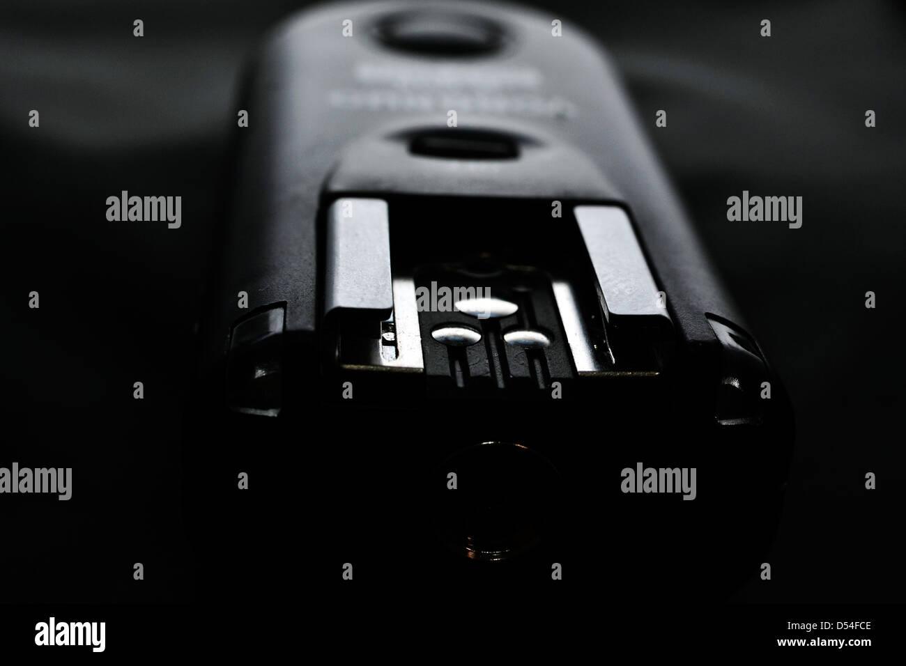 flash trigger - Stock Image