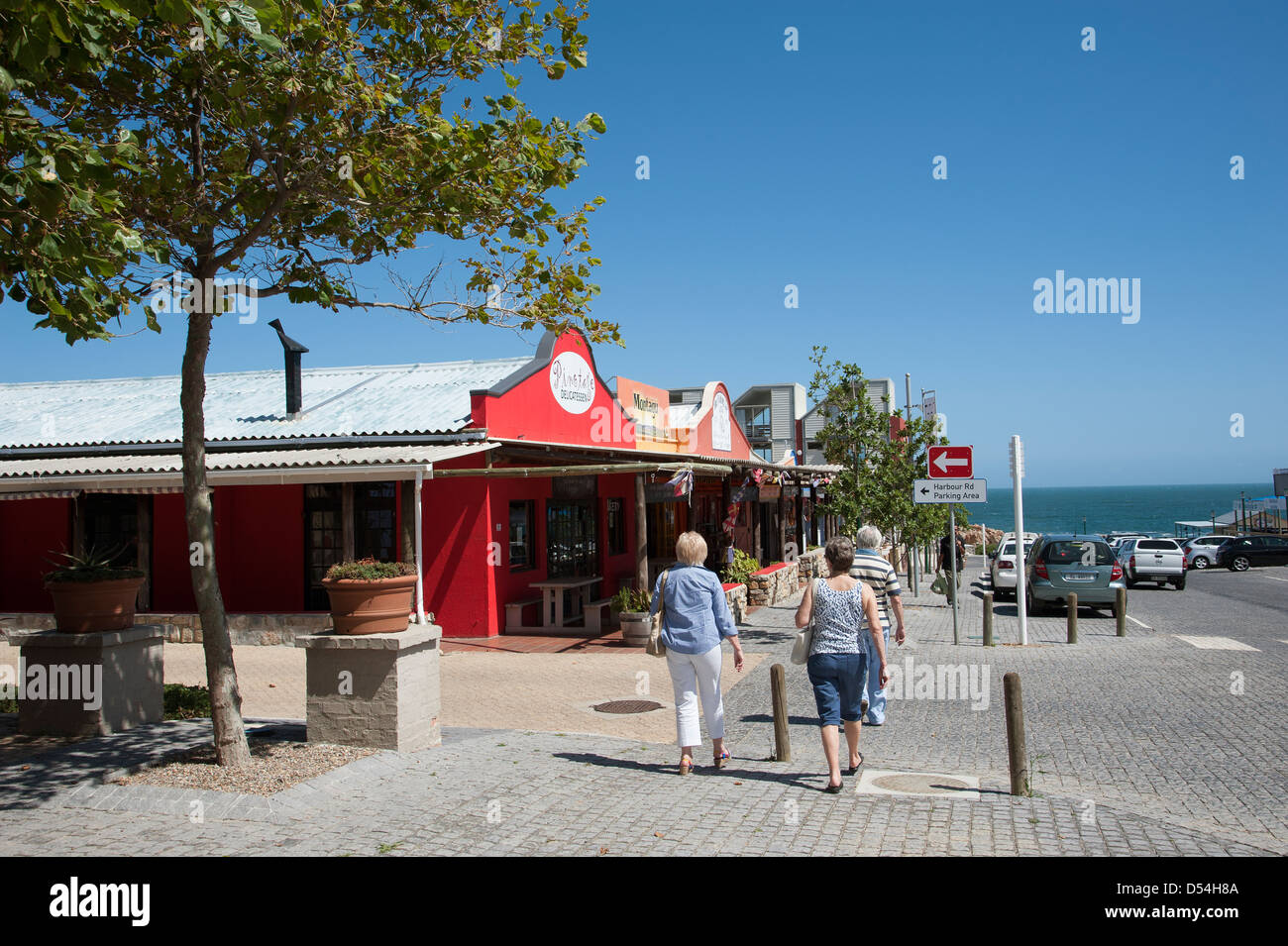 Kleidmond coastal town on Clarence Drive coastal route in the Western Cape South Africa - Stock Image