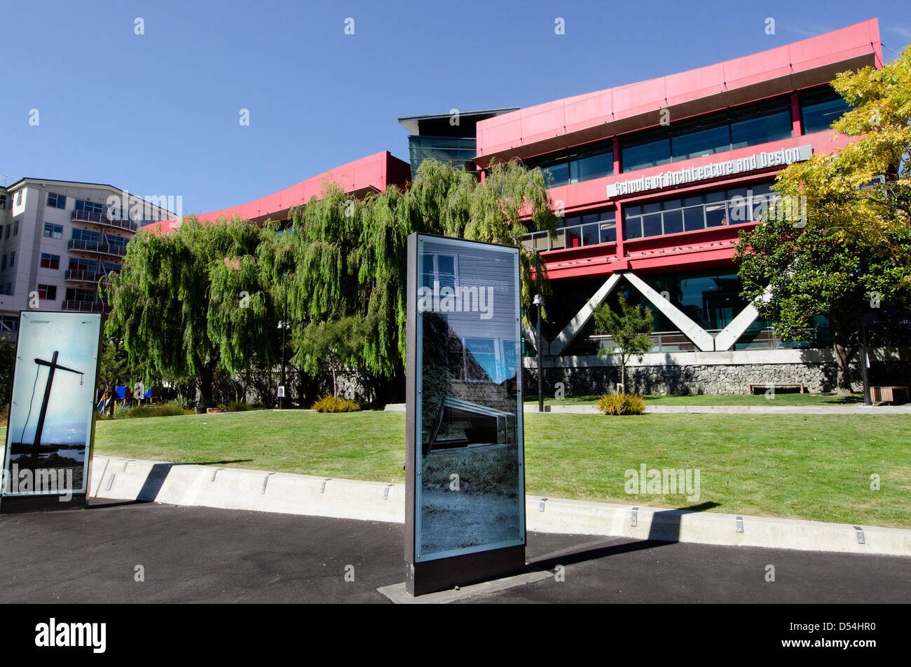 School of Architecture - Victoria University of Wellington NZ New Zealand Stock Photo
