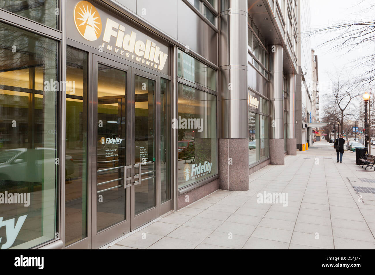 Fidelity Investments office - Washington, DC USA - Stock Image