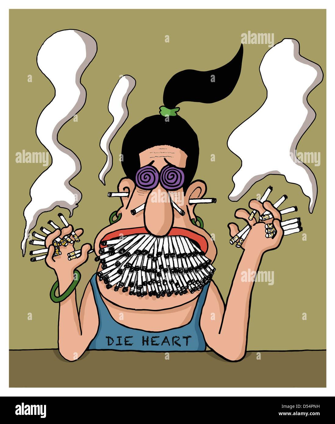 Курильщик веселые картинки