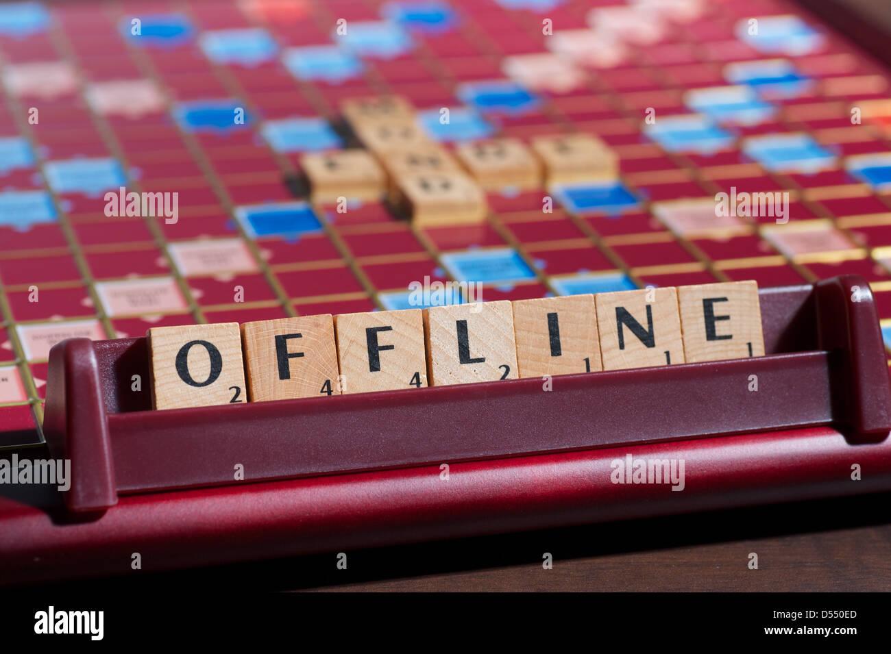 Scrabble Letters Stock Photos & Scrabble Letters Stock