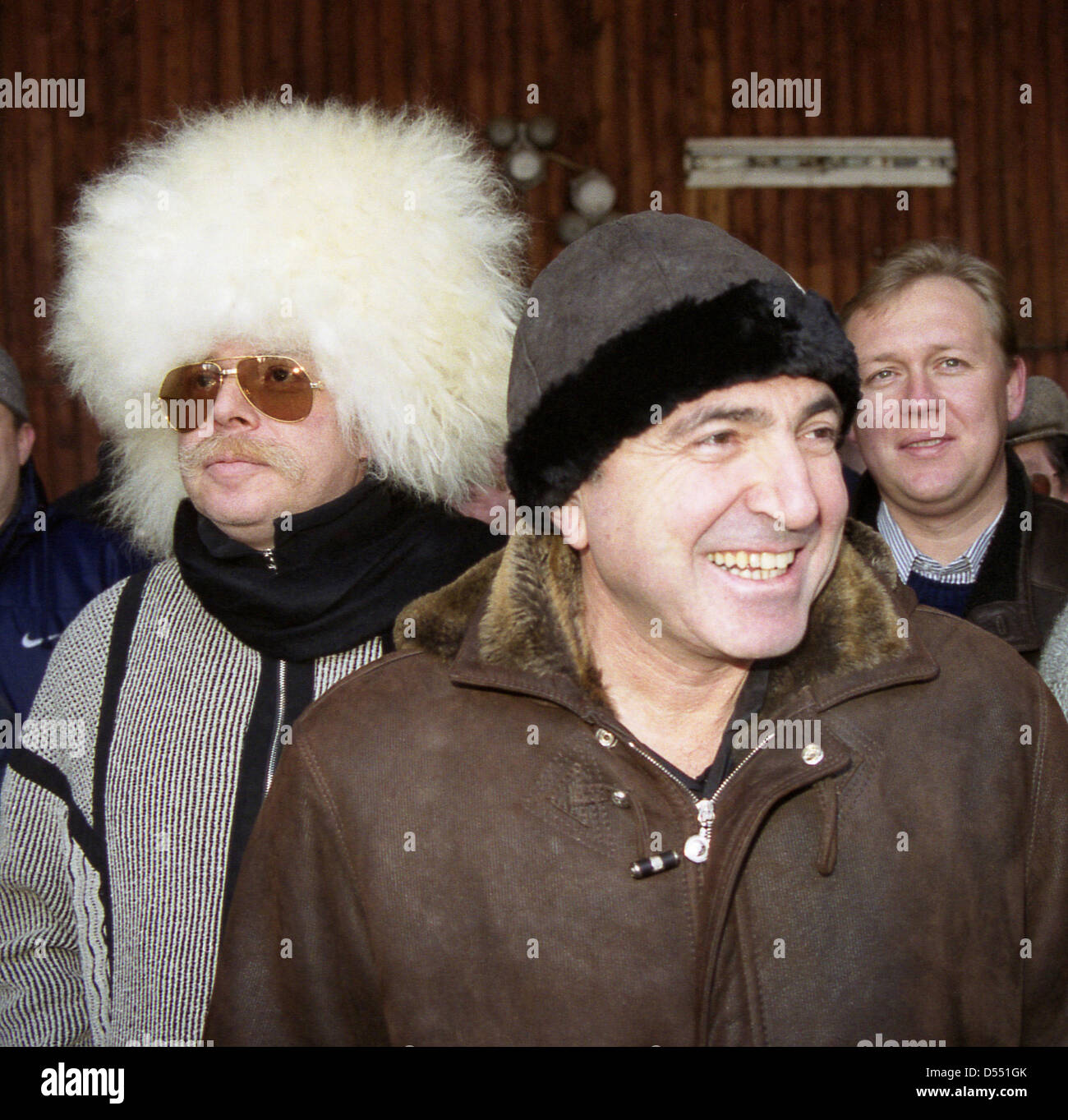 File pics: 23rd March 2013. Russian tycoon Boris Berezovsky dies in London Dec. 1, 1999 - Russia - December 1999. - Stock Image