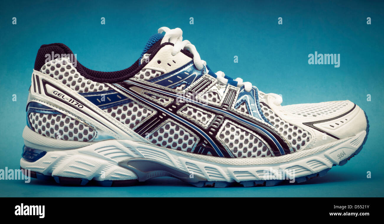 Asics Running Shoe Stock Photo: 54815767 Alamy