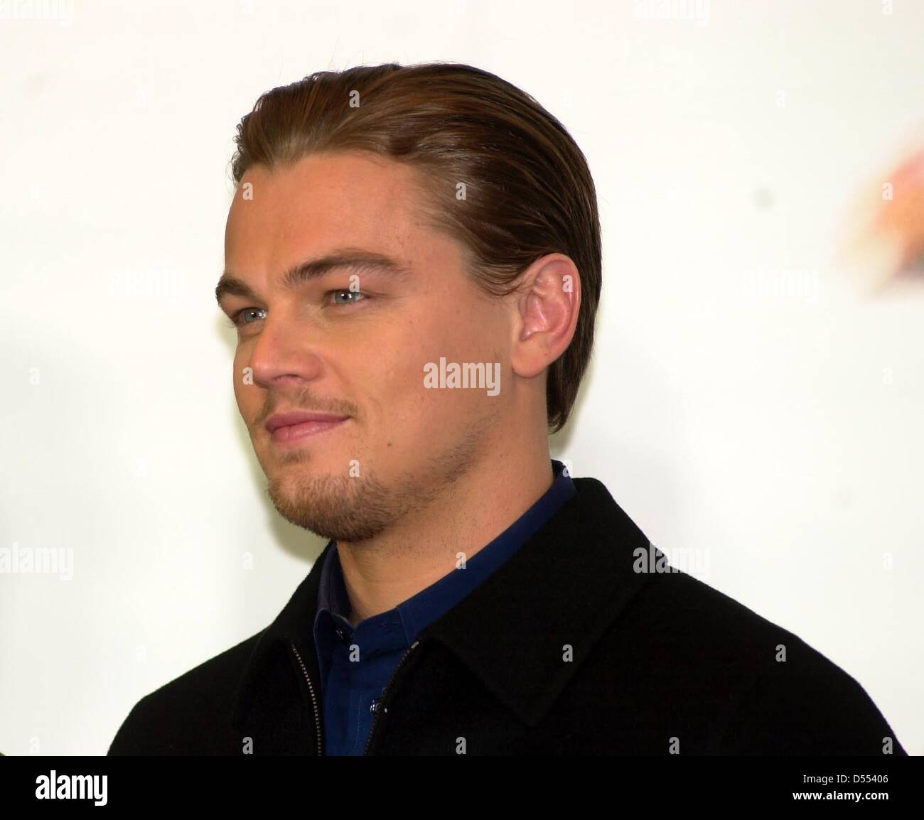 Leonardo Dicaprio At The Press Conference Of The New Film Catch