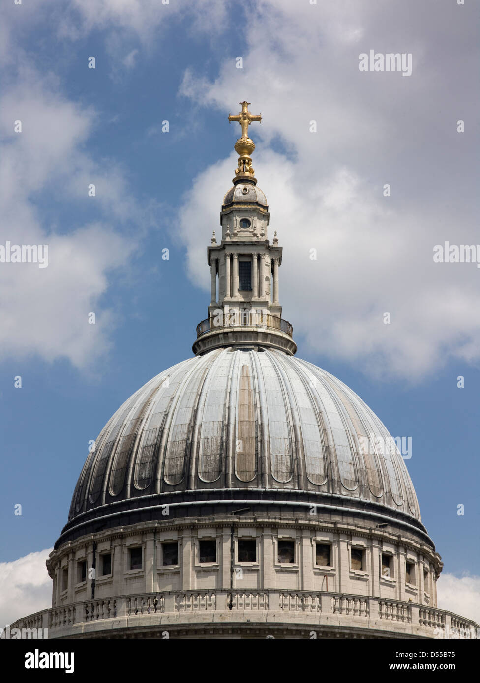 Saint Paul's Cathedral, London dome Stock Photo