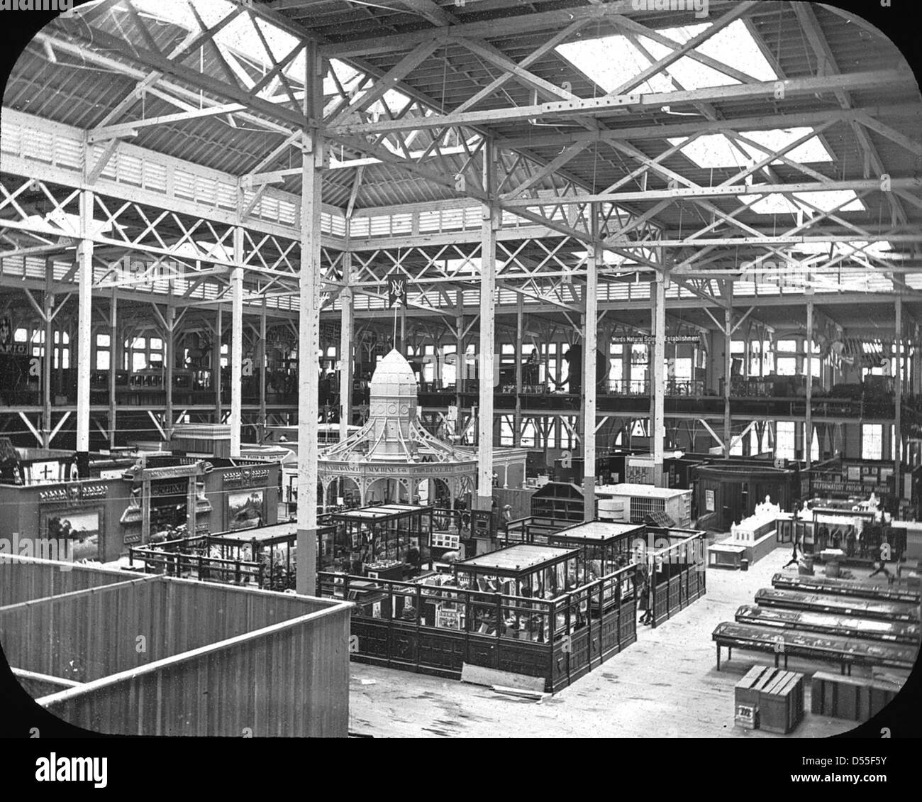 World's Columbian Exposition: Anthropological Building, Chicago, United States, 1893. - Stock Image