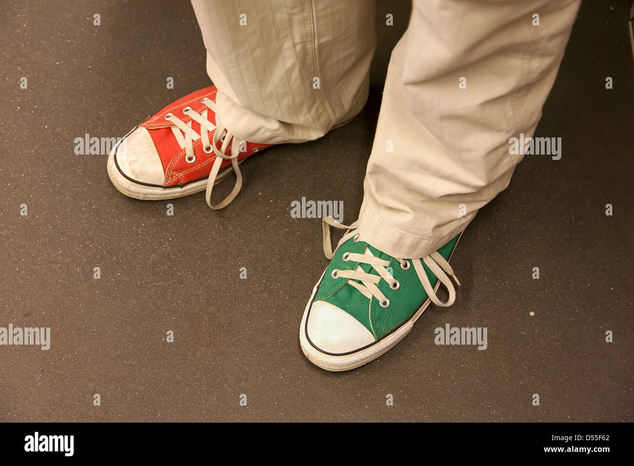 Color Sneakers High Resolution Stock