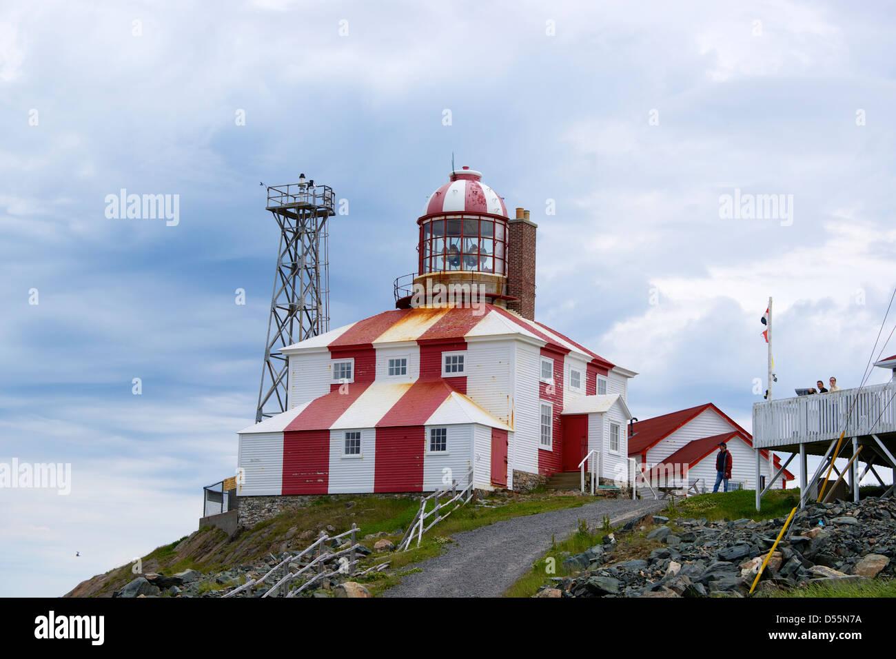 Cape Bonavista Lighthouse, Newfoundland. - Stock Image