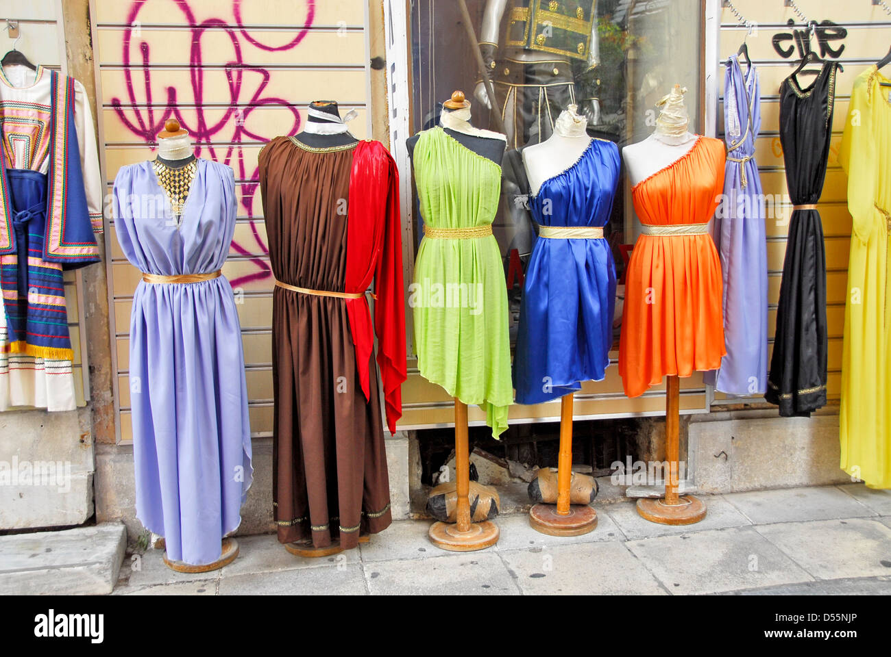 dresses-in-the-shopping-street-in-the-ol