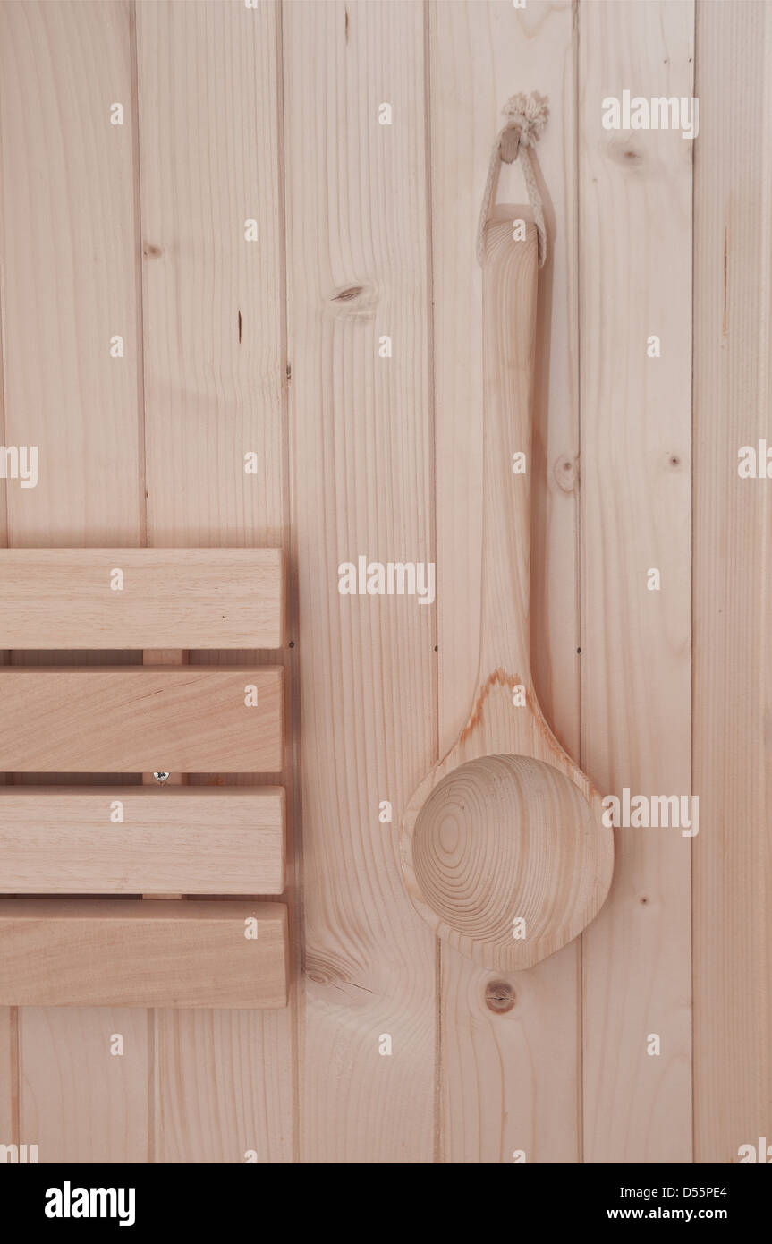 sauna accessories - Stock Image