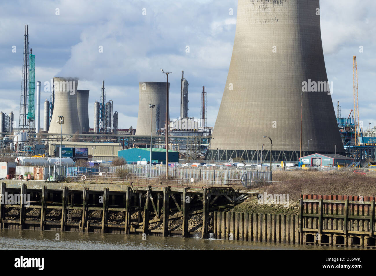 Ici Chemical Plant Stock Photos & Ici Chemical Plant Stock