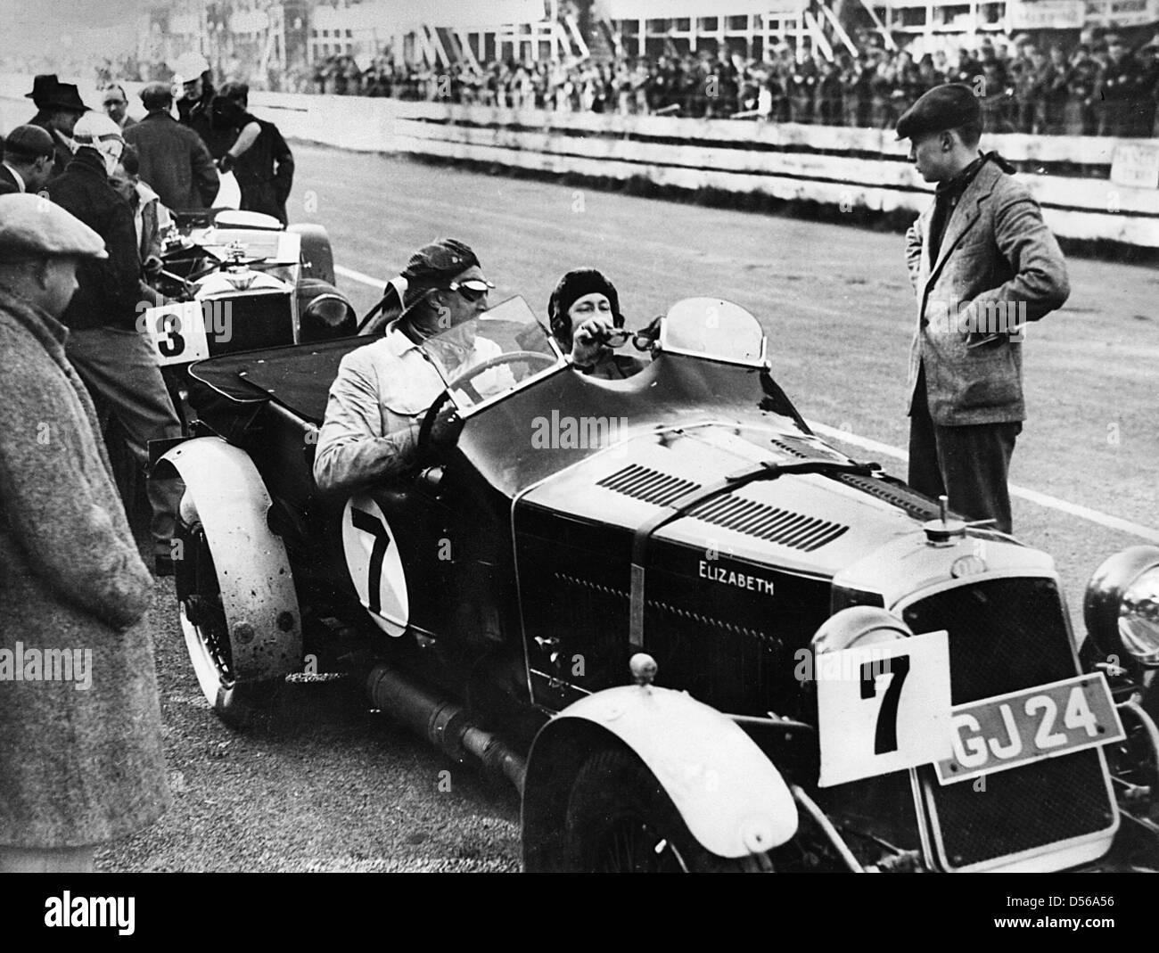 O.M. 1931 Irish GP, Oats. - Stock Image