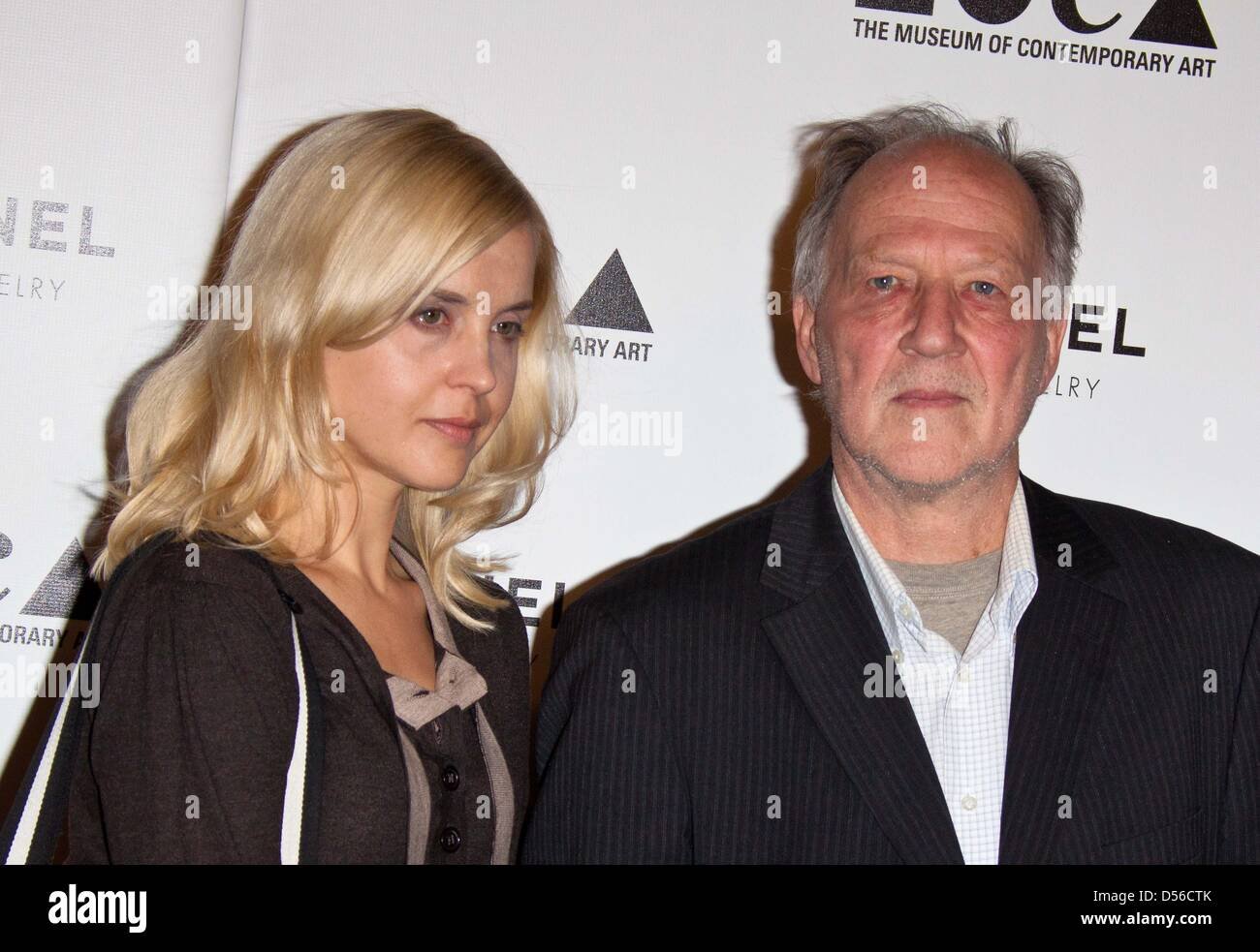German filmmaker Werner Herzog and his wife Lena Herzog ...
