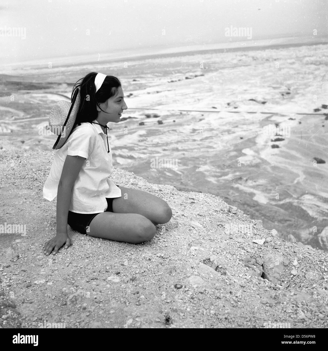 Young jewish girl