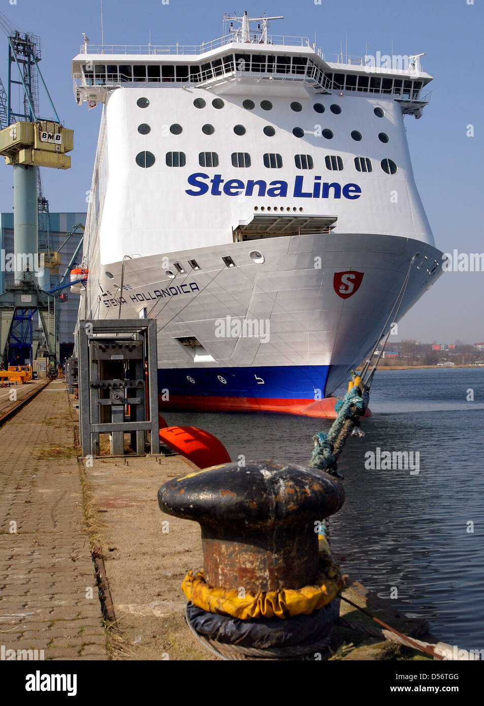 The world's biggest cargo passenger ferry ship 'Stena Hollandica' of