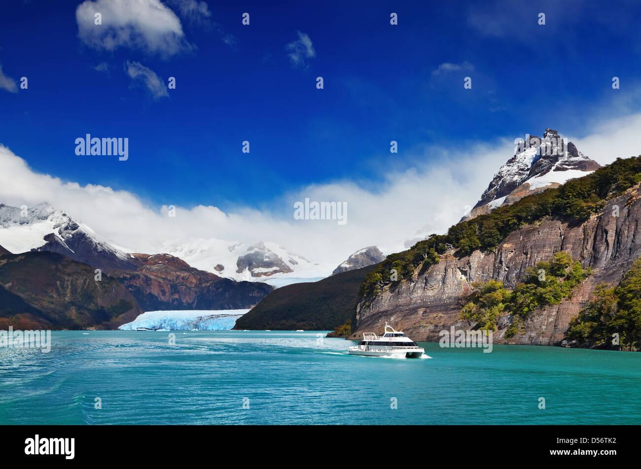 Spegazzini Glacier, Argentino Lake, Patagonia, Argentina - Stock Image