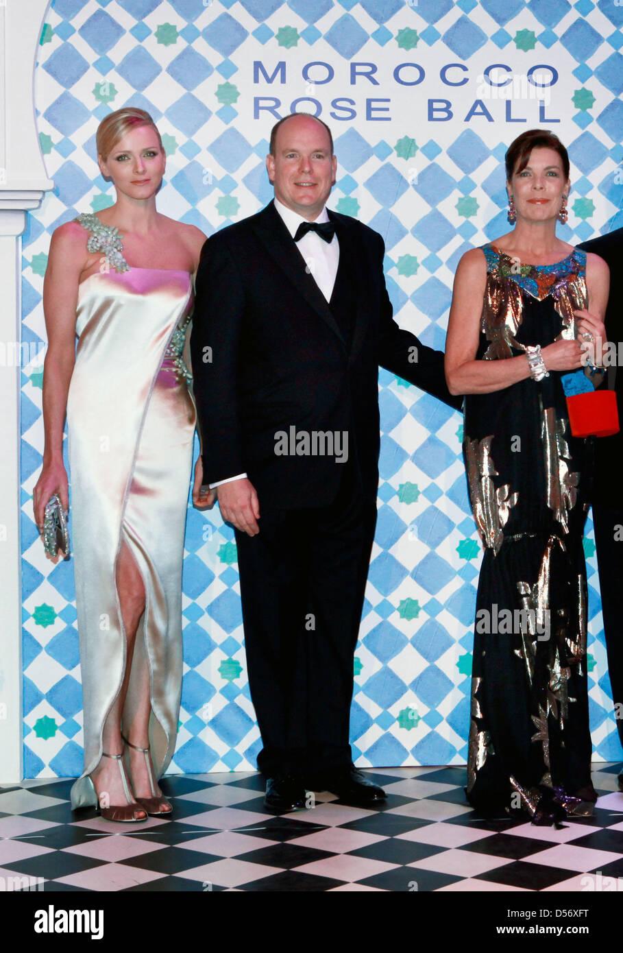Princess Charlene Monaco Princess Caroline Stock Photos & Princess ...