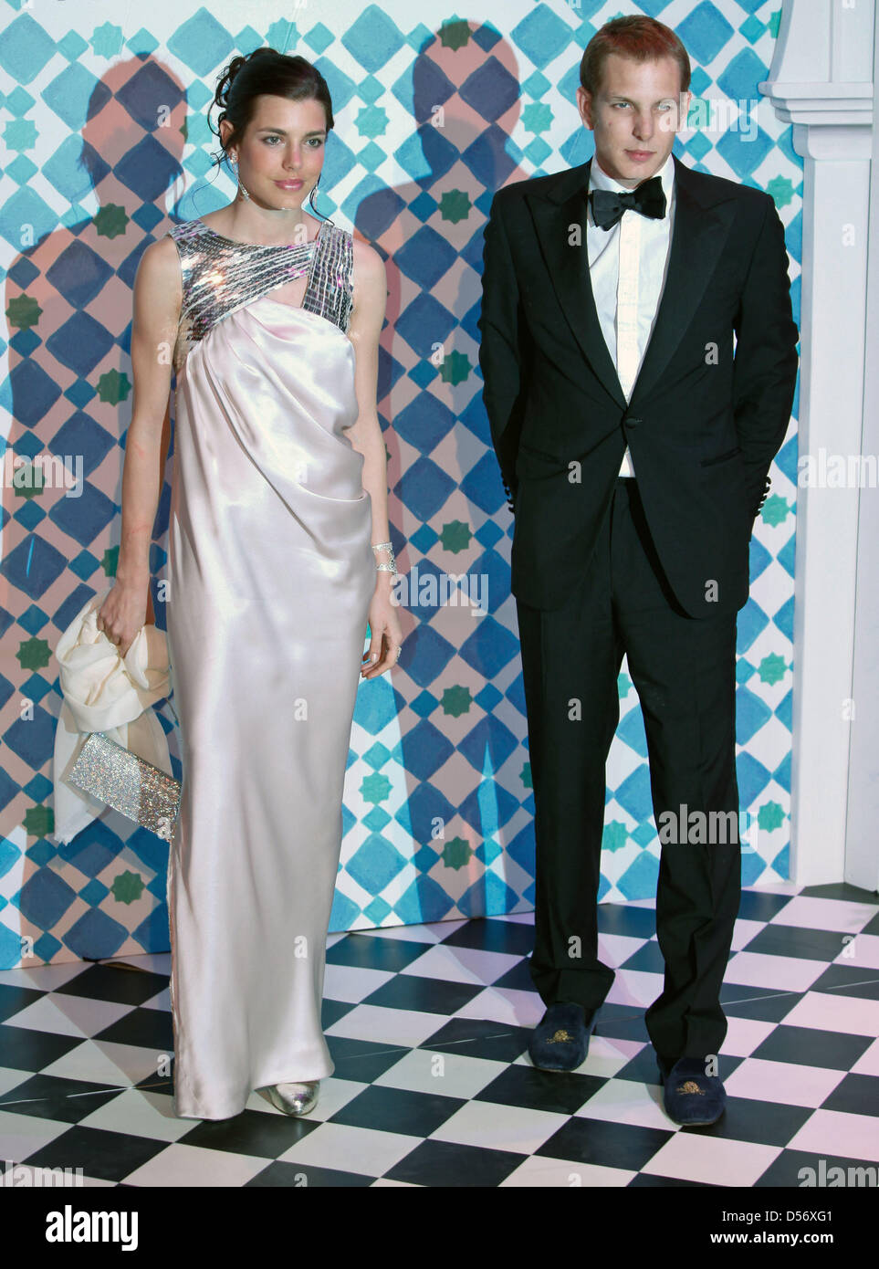 Charlotte Casiraghi And Andrea Stock Photos & Charlotte Casiraghi ...