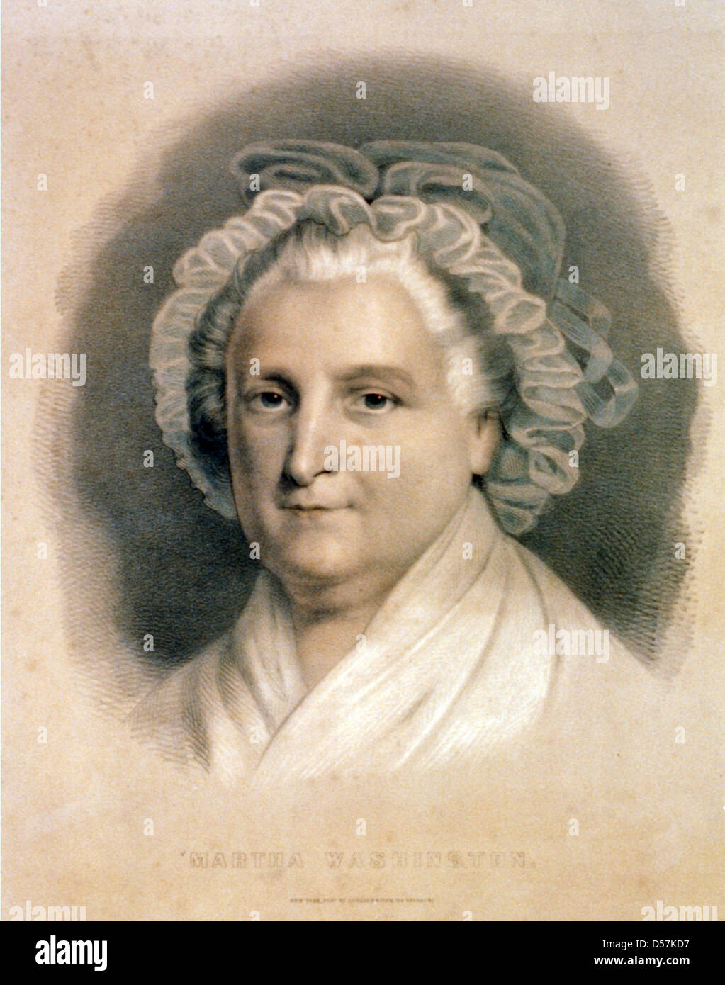 picture about Printable Pictures of George Washington named MARTHA WASHINGTON (1731-1802) spouse of US President George