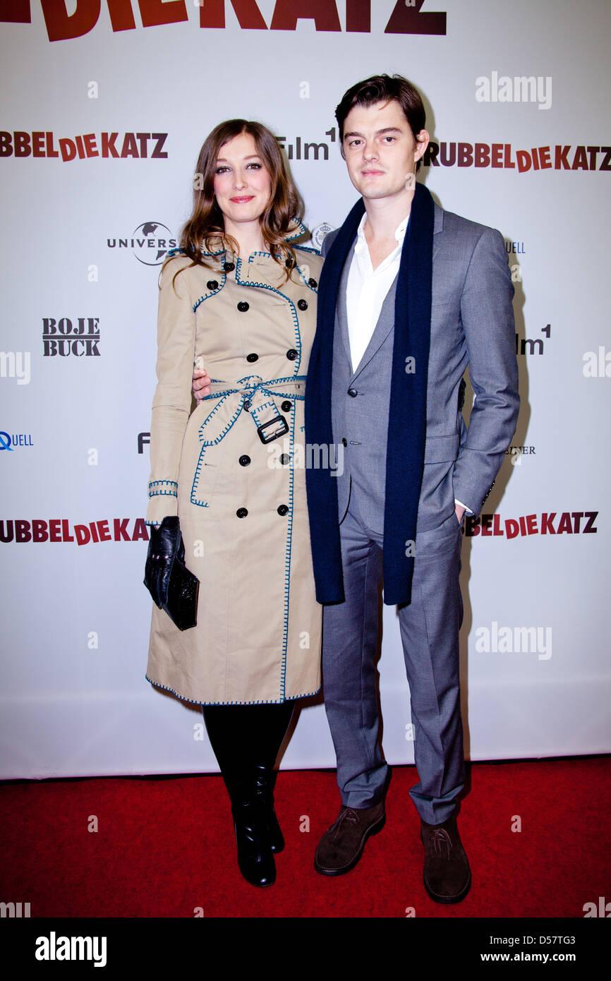 Alexandra Maria Lara And Husband Sam Riley At The Premiere Of Stock