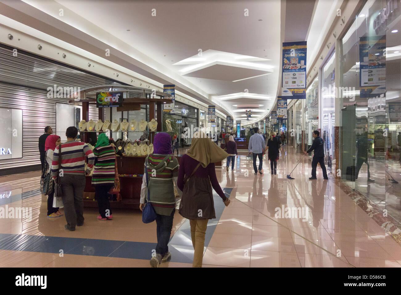 Customers Shopping Mall Of Arabia Cairo Juhayna Square 6th October City Giza EGYPT