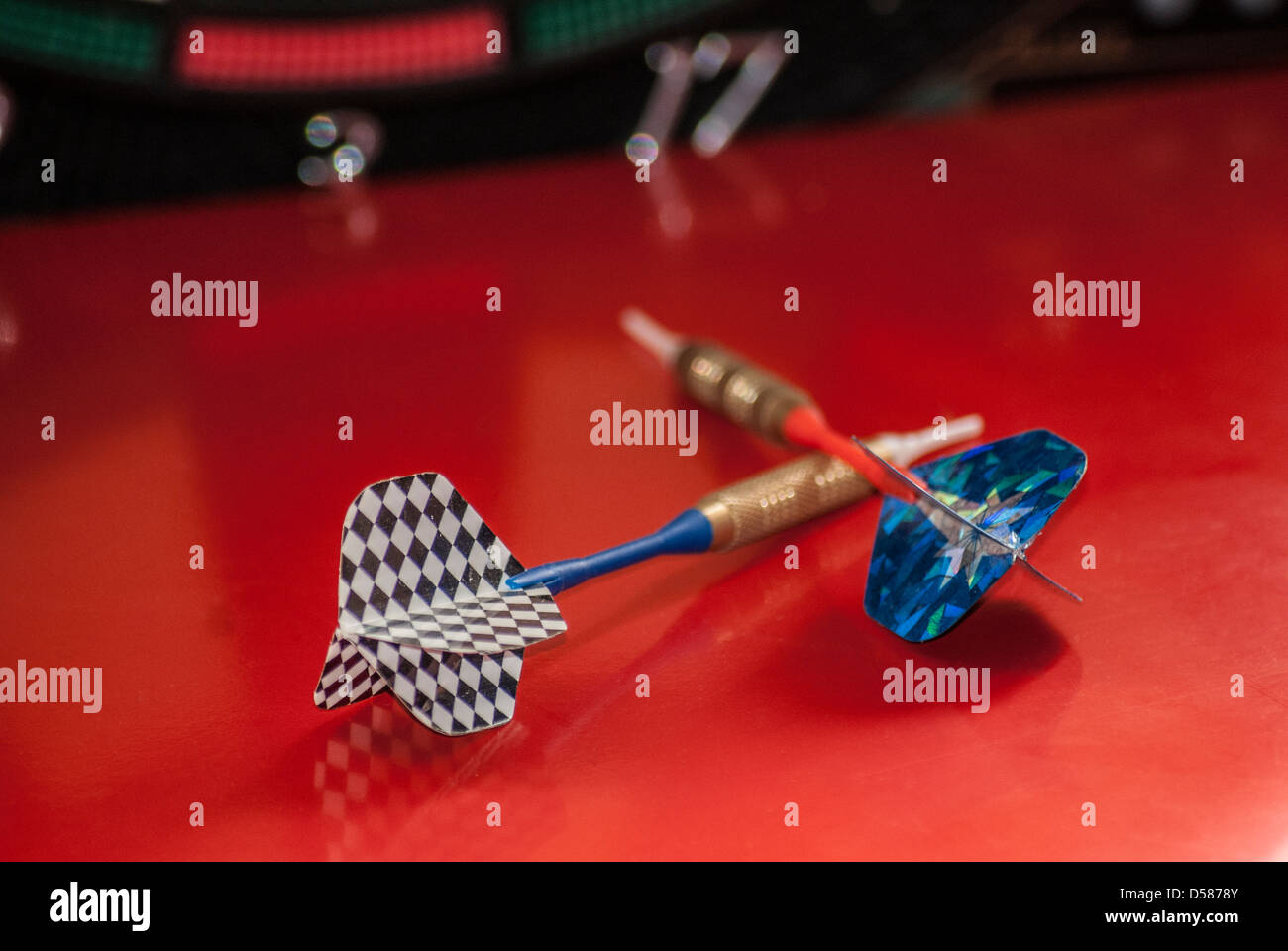 Arrow for play a game - Stock Image