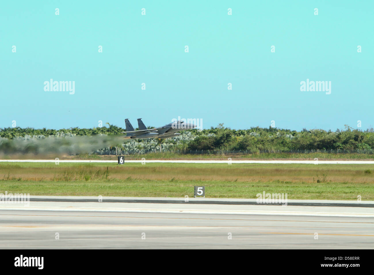 F/A-18, Hornet ,power, war ,fight, fast ,USA, missile, fire, Attack ,fighter jet,U.S. Navy's, - Stock Image