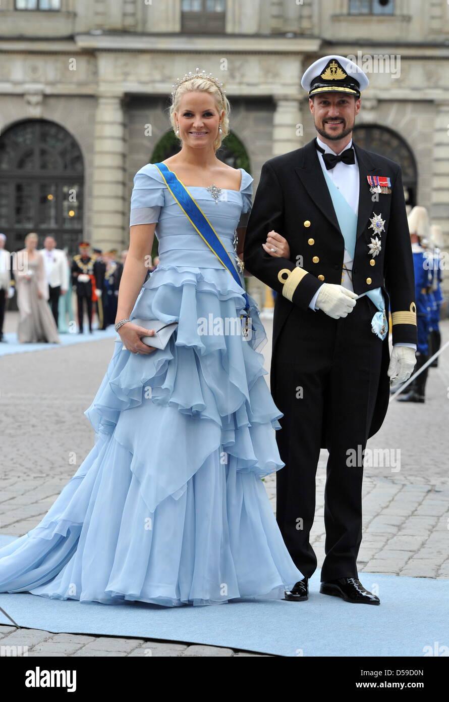 Haakon Mette Marit Wedding Stock Photos Haakon Mette Marit Wedding