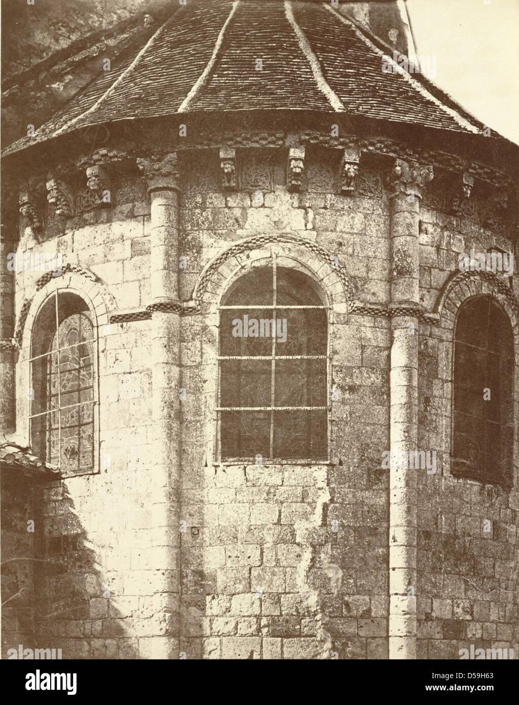 Cathedral of Saint-Caprais, Agen Stock Photo