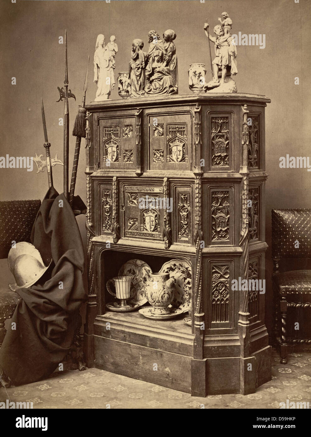 Troyes. Collections Lancelot Stock Photo
