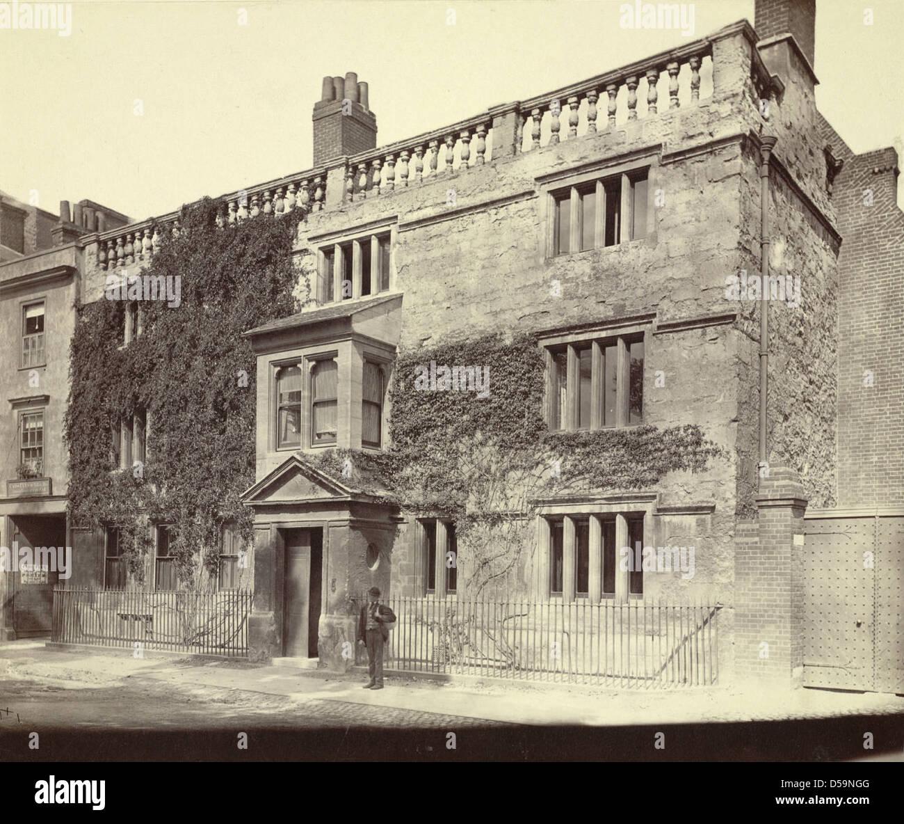 English Townhouse Stock Photo