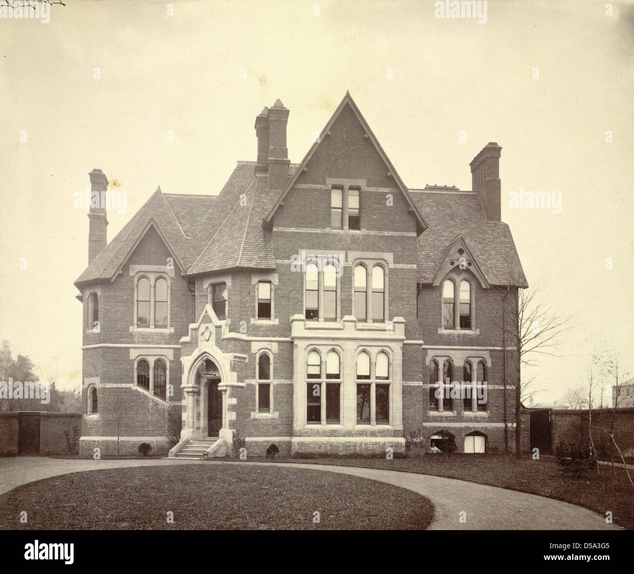 Nineteenth-century House Stock Photo