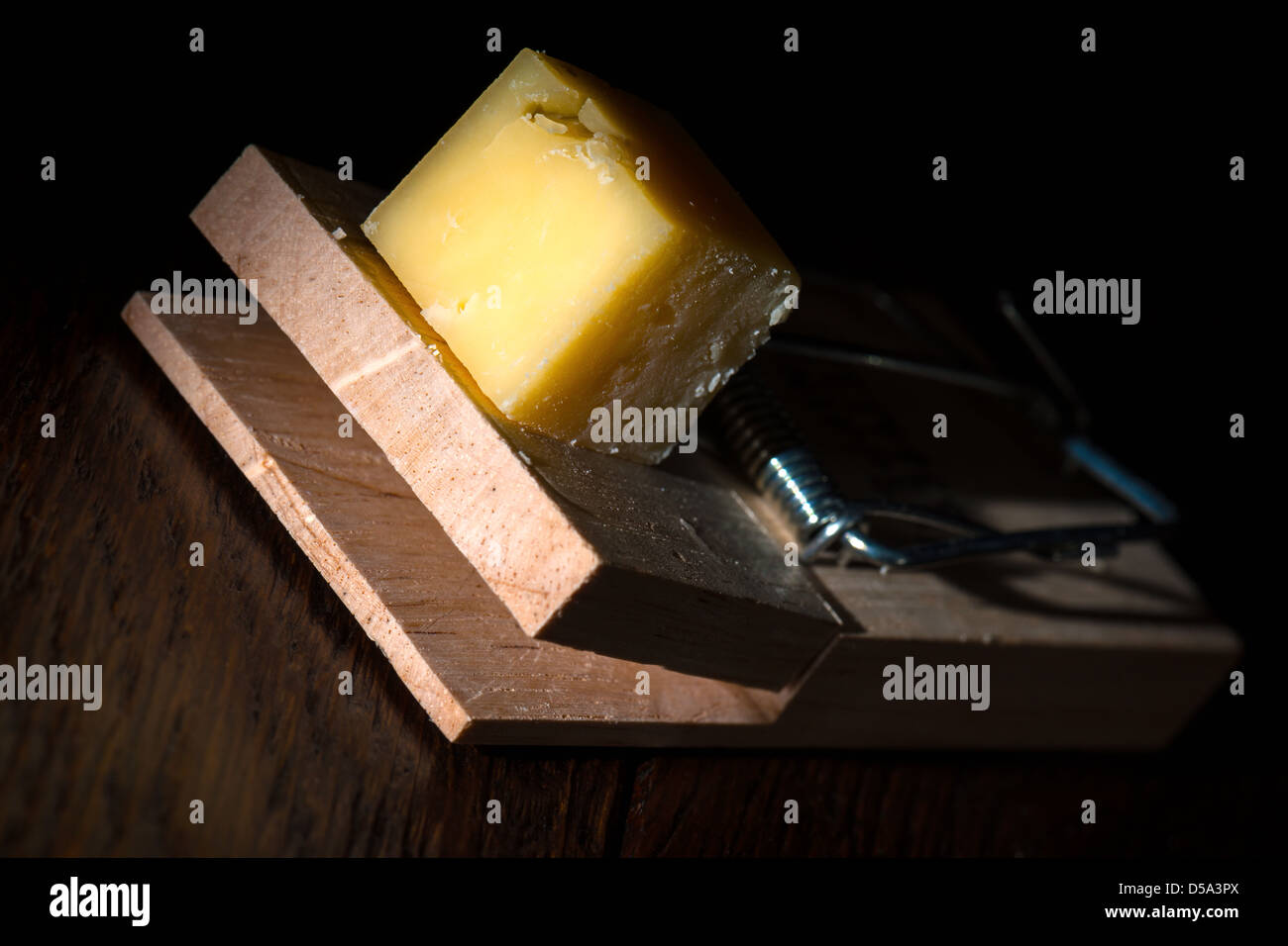 The Trap! - Stock Image