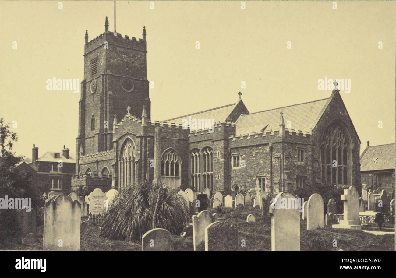 Untitled (Unidentified English church) Stock Photo